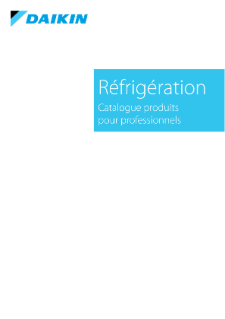 Catalogue commercial régrigération