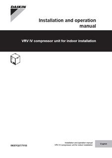 daikin vrv iv installation manual pdf