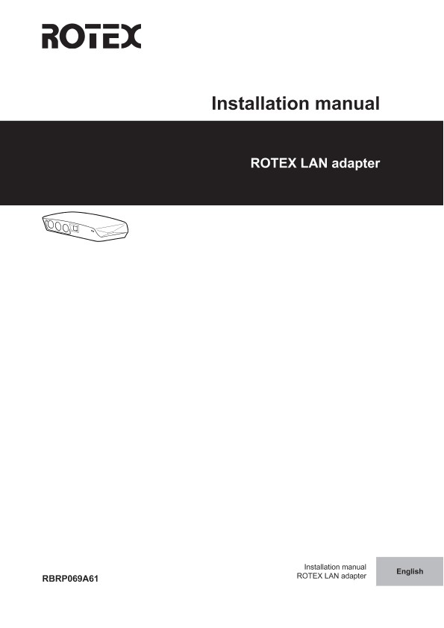 Daikin Installation manual download Wifi Controller