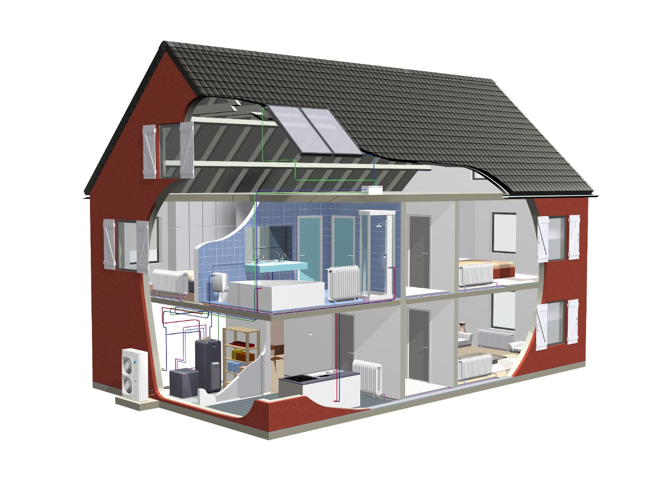 Daikin Altherma HT split with solar_Illustrations.tif